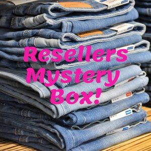 Denim - Resellers Only JEANS Mystery Box!  5lbs of JEANS!